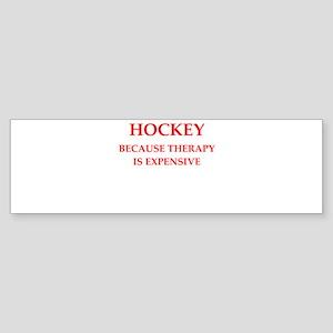 hockey Bumper Sticker