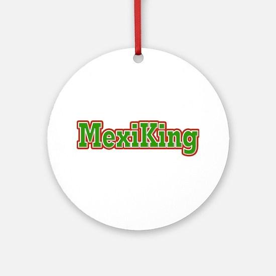 MexiKing Ornament (Round)