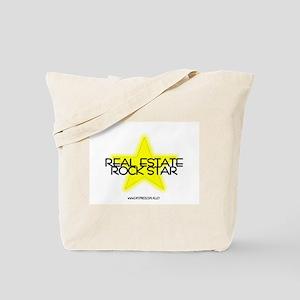 Real Estate Rock Star Tote Bag