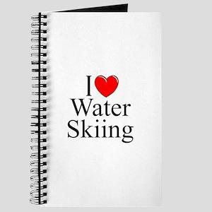 """I Love (Heart) Water Skiing"" Journal"