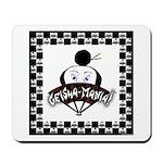 Checkerboard Logo Mousepad