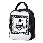 Checkerboard Logo Neoprene Lunch Bag