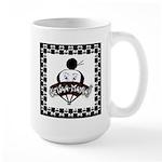 Checkerboard Logo Mugs