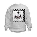 Checkerboard Logo Sweatshirt