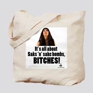 Saks and Sake Bombs Tote Bag