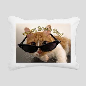 Bosss Day Rectangular Canvas Pillow