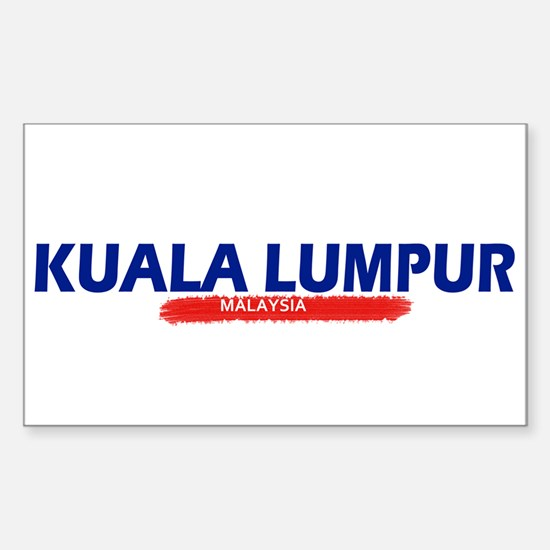 Kualalumpur Hot Sticker (Rectangle)