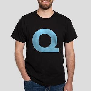 Letter Q Light Blue T-Shirt