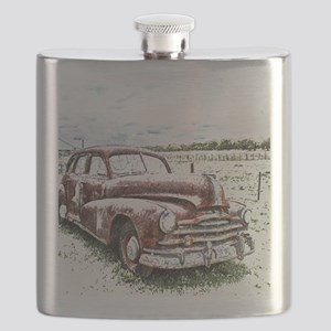 Rusty Old Timer Flask