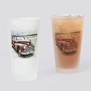 Rusty Old Timer Drinking Glass