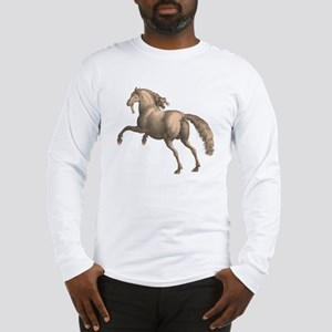 Andalusian Horse Galloping Sta Long Sleeve T-Shirt