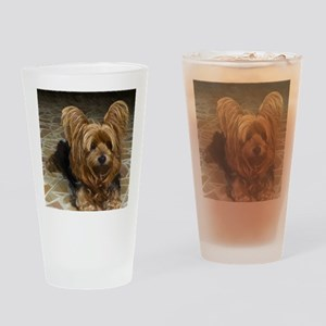 Yorkshire Terrier Drinking Glass