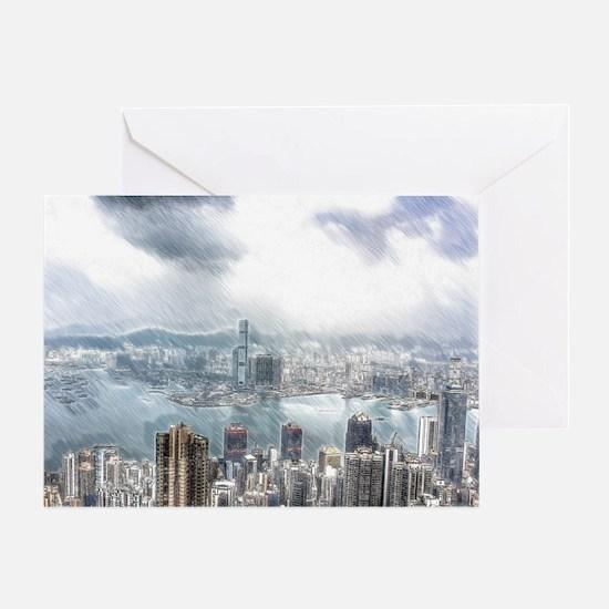 Hongkong Greeting Cards