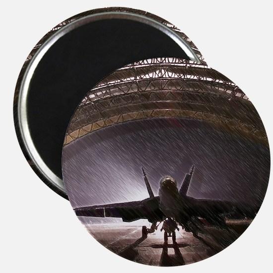 Airplan hangar Magnets