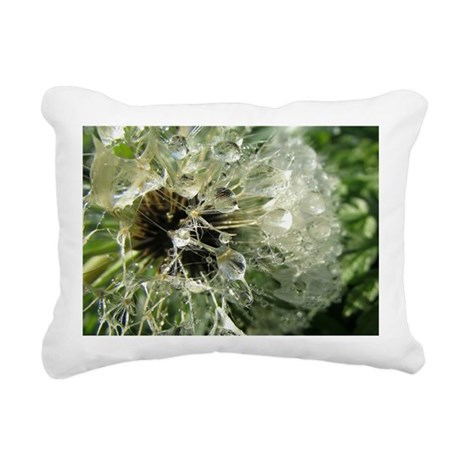 Wonderful Dandelion Rectangular Canvas Pillow