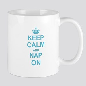 Keep Calm and Nap on Mugs