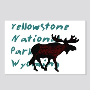 Yellowstone National Park Wyo Postcards (Package o