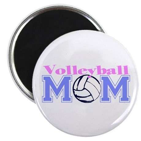 """Volleyball Mom 2.25"""" Magnet (10 pack)"""