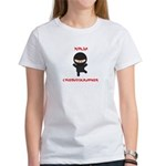 Ninja Cinematographer Women's T-Shirt