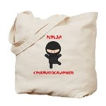 Ninja Cinematographer Tote Bag