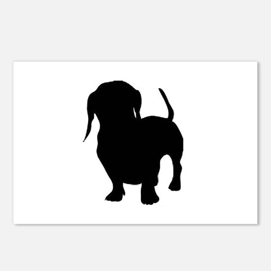 dachshund 2 Postcards (Package of 8)