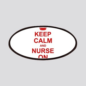 Keep Calm and Nurse on Patches