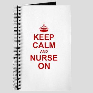 Keep Calm and Nurse on Journal