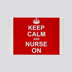 Keep Calm and Nurse on Magnets