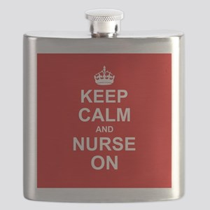 Keep Calm and Nurse on Flask