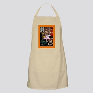 Trick-or-Treat Cat in Costume Apron