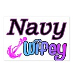 Navy Wifey Postcards (Package of 8)