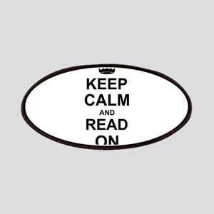 Keep Calm and Read on Patches
