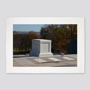 Tomb of the Unknown Soldier 5'x7'Area Rug