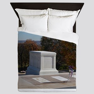 Tomb of the Unknown Soldier Queen Duvet