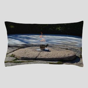 John F Kennedy Eternal Flame Pillow Case