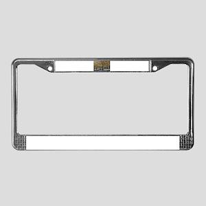 Respectful Mourner License Plate Frame