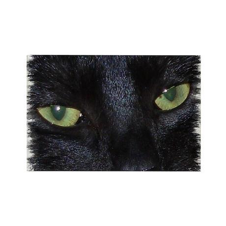 Rectang.Magnet (100pc) Miru-the naughty black cat