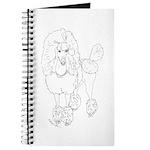 Rock Star Poodle Dog Journal