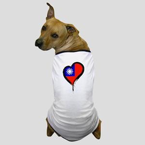 Heart Nation 06 Dog T-Shirt