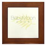 BabyMoon Leaf 2008 Framed Tile