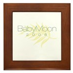 BabyMoon Leaf 2008 Framed Tile