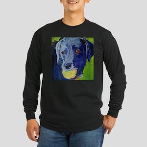 Play Ball a dog and his ball Long Sleeve T-Shirt