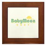 BabyMoon Sunset 2007 Framed Tile