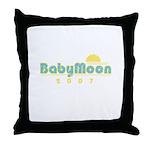 BabyMoon Sunset 2007 Throw Pillow