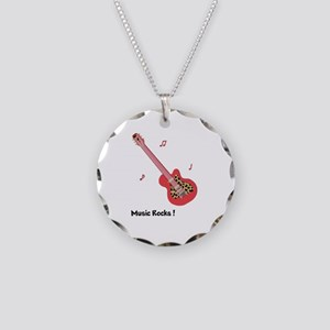 Personalized Red Leopard Gui Necklace Circle Charm