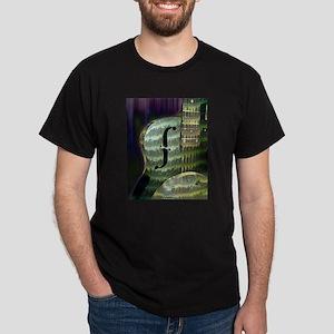 Futuristic Guitar T-Shirt (choice of colors)