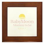 BabyMoon Mommy To Be 2007 Framed Tile