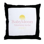 BabyMoon Mommy To Be 2007 Throw Pillow