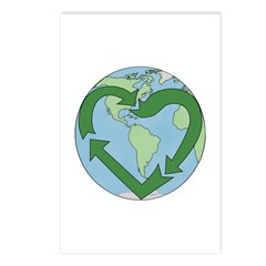 Recycle Earth (Heart) Postcards (Package of 8)