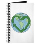 Recycle Earth (Heart) Journal